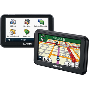 Garmin Portable Vehicle GPS Refurb Nuvi 40 for Us & Canada 010-N0990-00