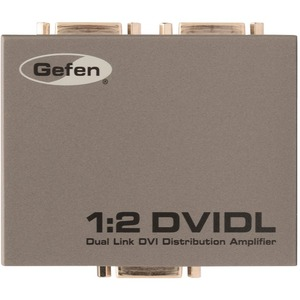 Gefen 1:2 Dual Link DVI Distribution Amplifier / Mfr. No.: Ext-DVI-142dln