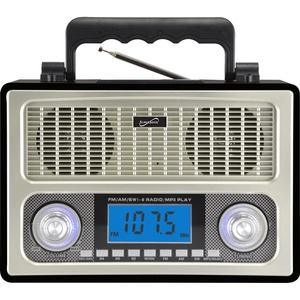10 Band Am Fm Shortwave Radio / Mfr. Item No.: Sc-1098wood