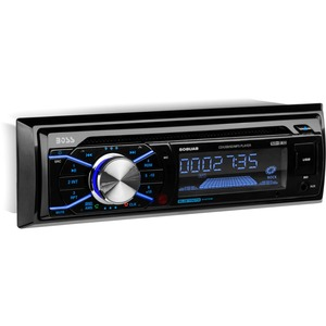 Single Din Mp3/Cd/Am/Fm Receiver Bluetooth Enabled W/ Streamin / Mfr. No.: 508uab