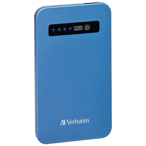 Ultra-Slim Power Pack 4200mah Power Bank Charger Blue 98451 / Mfr. No.: 98451