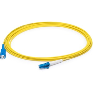 10m Singlemode Fiber Simplex Lc/Sc Os1 Yellow Smf Patch Cabl / Mfr. no.: ADD-SC-LC-10MS9SMF