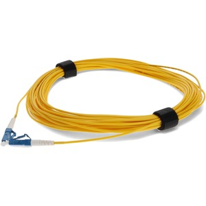 20m Singlemode Fiber Simplex Lc/Lc Os1 Yellow Smf Patch Cabl / Mfr. No.: Add-Lc-Lc-20ms9smf