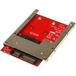 MSATA Ssd To 2.5in SATA Adapter Converter With Open Fra / Mfr. No.: Sat32msat257