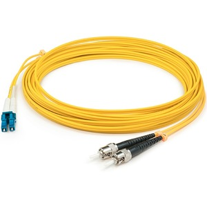 3m Smf Lc/St 9/125 Simplex Yellow Os1 Patch Cable / Mfr. No.: Add-St-Lc-3ms9smf