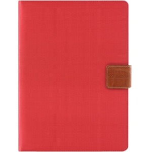 Universal Folio Travel Case Red For 9.7in and 10in Tablet and IPads / Mfr. No.: Autc10fr