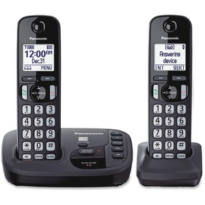 2handset Crdls Answering Syst Talking Caller Id Large 1.6in D / Mfr. No.: Kx-Tgd222n