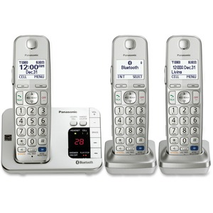 3handset Bluetooth Cell Convergence Solution Link 2 Cell Phones / Mfr. No.: Kx-Tge263s