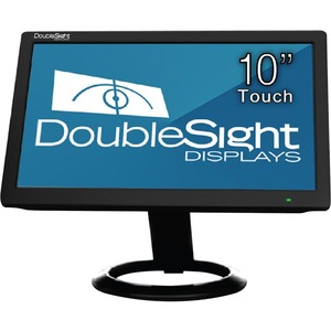 10in LCD Res Touch 1024x600 500:1 Ds-10ut USB Black TAA / Mfr. No.: Ds-10ut