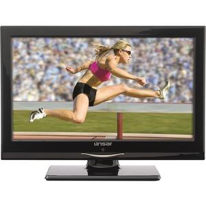 "Linsar 16"" LED Ultra Slim Gloss Black Television"