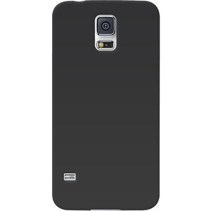 Black Silicone Skin Jelly Case For Samsung Galaxy S5 / Mfr. No.: Amz96853