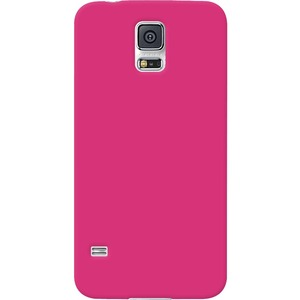 Hot Pink Silicone Skin Jelly Case For Samsung Galaxy S5 / Mfr. no.: AMZ96858