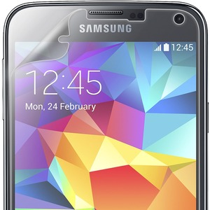Shatterproof Screen Protector Front Coverage Samsung Galaxy S / Mfr. No.: Amz96873