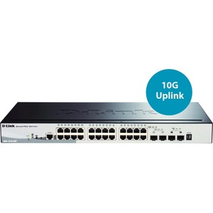 Dgs-1510-28p 28port Web Mng 10/100/1000 2port Sfp Stackable / Mfr. no.: DGS-1510-28P