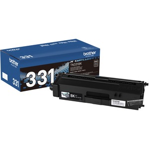 Tn331bk Black Toner For Hll8250cdn 8350cdw 8350cdwt / Mfr. No.: Tn331bk