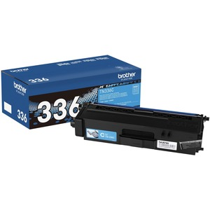 Tn336c Cyan High Yield Toner For Hll8250cdn 8350cdw 8350cdwt / Mfr. No.: Tn336c