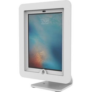 IPad 2/3/4/Air/Air2 Secure Exec Encl With Rotating Kiosk White / Mfr. No.: Aio-W