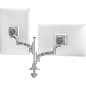 Kontour K2c Articulating Column Mount Silver For 10-30in 2Monitor / Mfr. No.: K2c220s