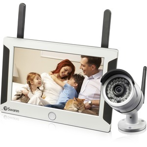 Nvw-470 All-In-One Swannsecure Wireless Hd Monitoring System Camer / Mfr. No.: Swnvw-470kit-Us