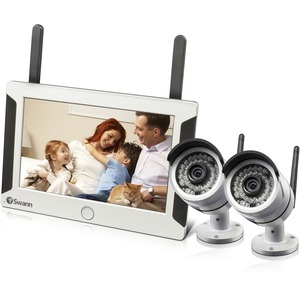 Nvw-470 All-In-One Swannsecure Wireless Hd Monitoring System 2xcam / Mfr. No.: Swnvw-470pk2-Us