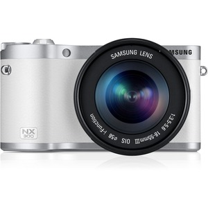 Nx300m White With 18x55mm Lens White / Mfr. No.: Ev-Nx300mbquus