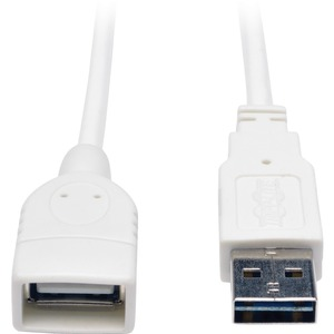 6ft Universal Reversible USB A To A M/F Wht USB2.0 / Mfr. No.: Ur024-006-Wh