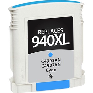 Cyan Officejet Ink Ctg F/ Hp 940xl C4907an#140 / Mfr. no.: V7WC940XLC