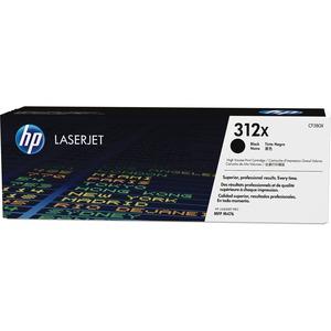 Toner HP Noir 312X - Rendement Elevé pour Color LaserJet Pro MFP M476dn, MFP M476dw - CF380X