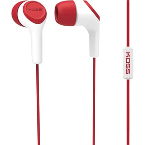 Red Noise Isolating In-Ear Headphone With In Line Mic / Mfr. No.: Keb15ir