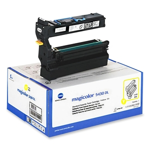 Yellow Toner Cart For Magicolor 5430 5440 5450 6k Yld / Mfr. No.: 1710580-002