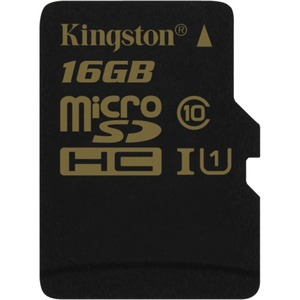 16gb Microsdhc Cl10 Uhs-I 90r/45w Single Pack W/O Adapter / Mfr. no.: SDCA10/16GBSP
