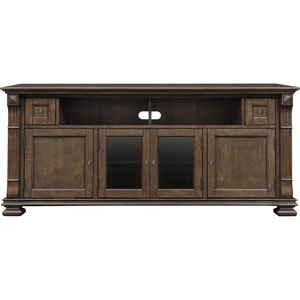 Wood Cabinet-Mocha Finish Tvs Up To 75in Wide Cust Pays F / Mfr. No.: Pr36