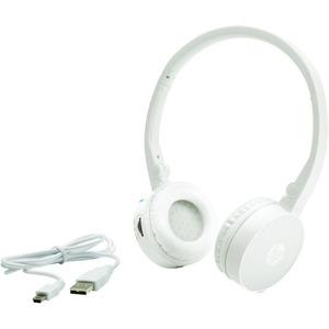 HP H7000 White Bluetooth Wireless Headset(G1Y51AA)
