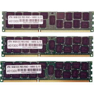 48gb 3x16gb Pc3-14900 Ddr3 Ecc 1866mhz Rdimm 1.5v For Mac Pro / Mfr. No.: 900695