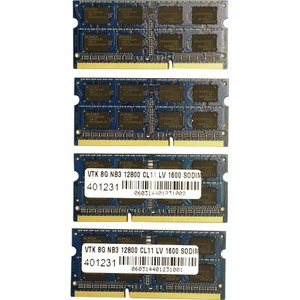 32gb 4x8gb Pc3-12800 Ddr3 Kit Sodimm 1600mhz For IMac Models / Mfr. No.: 900707