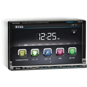 Double Din 7in Detachable Motorized Touchscreen Receiver / Mfr. No.: Bv9759bd