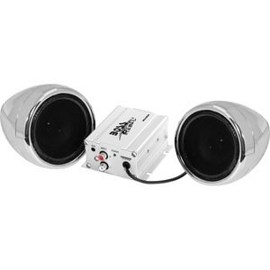 Motorcycle/Utv 2 Speaker /Amp Syst 600 Watts With Bluetooth / Mfr. No.: Mc420b