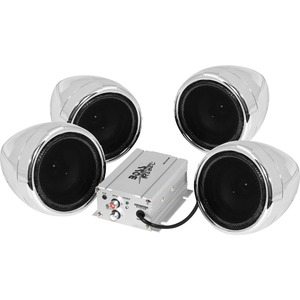 Motorcycle/Utv 4 Speaker /Amp Syst 1000 Watts With Bluetooth / Mfr. No.: Mc470b