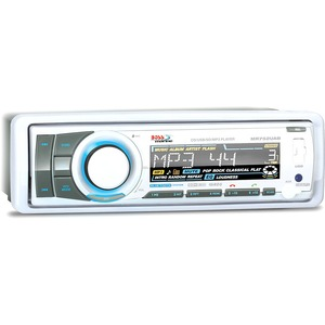 Single Din Marine Receiver Bluetooth Enabled W/ Audio Streaming / Mfr. No.: Mr752uab