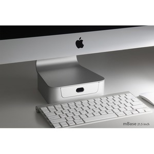 Mbase Elevating Stand 21.5in With Drawer For IMac / Mfr. No.: 10043