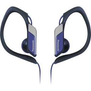 Hs34 Water/Sweat Resistant Sports Clip Earbud Blue / Mfr. No.: Rp-Hs34-A