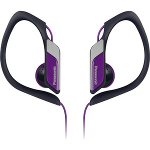 Hs34 Water/Sweat Resistant Sports Clip Earbud Violet / Mfr. No.: Rp-Hs34-V