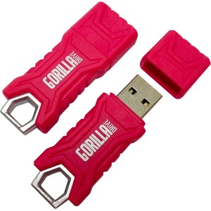 64gb Gorilla Flash Drive USB Drive Pink Ruggedized / Mfr. No.: Ep-GdUSBp/64gb