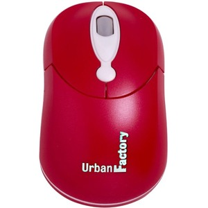 Crazy Mouse Red Optical USB Wired Mouse 800dpi / Mfr. No.: Cm10uf