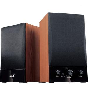 Genius Two-Way Hi-Fi Wood Speakers