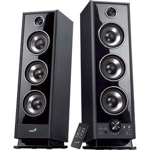 Genius Hi-Fi Digital Wooden Speakers