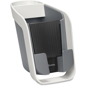 Fellowes® I-Spire Series Pencil and Phone Station Grey and White