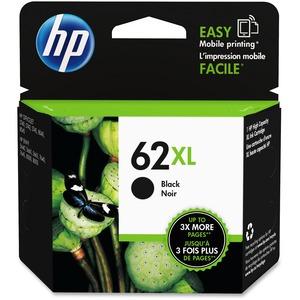 HP Inkjet Cartridge #62XL High Yield Black
