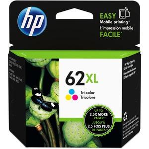 HP Inkjet Cartridge #62XL High Yield Tricolour