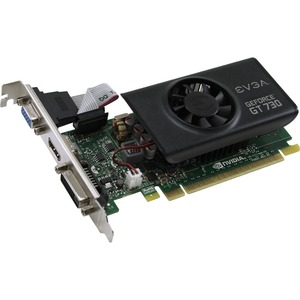 Geforce Gt730 1gb Ddr5 Lp Ddr5 1024mb Low Profile / Mfr. No.: 01g-P3-3731-Kr